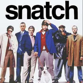 Snatch is listed (or ranked) 10 on the list The Best Brad Pitt Movies