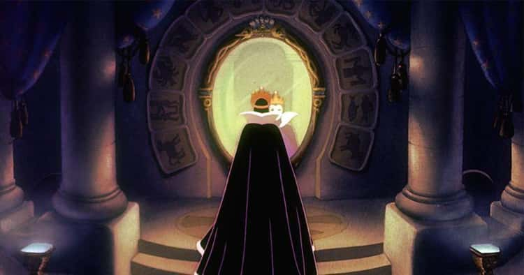 """""""Mirror, Mirror, on the wall, who's the fairest of them all?"""" - Snow White and the Seven Dwarves"""