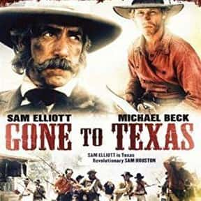 Gone to Texas is listed (or ranked) 14 on the list The Best '80s Western Movies