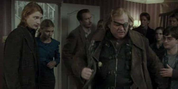 'Harry Potter and the Deathly Hallows - Part I' - Brendan Gleeson & Domhnall Gleeson