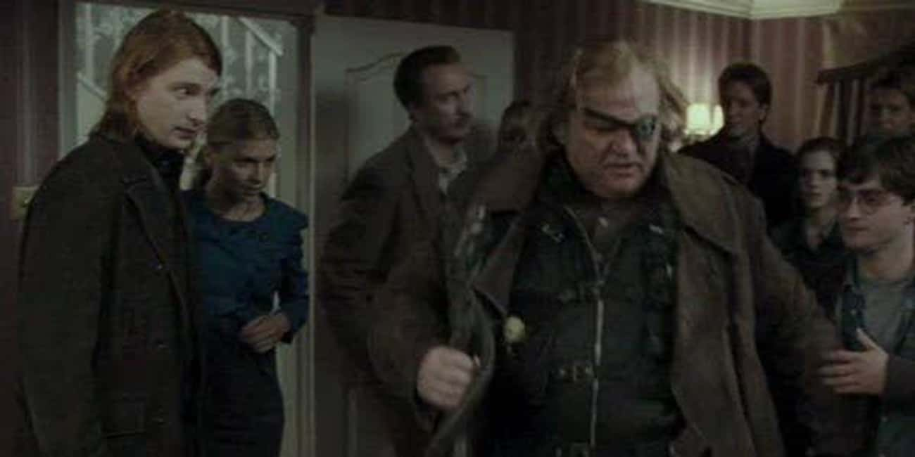 'Harry Potter and the Deathly Hallows - Part I' - Brendan Gleeson &Domhnall Gleeson