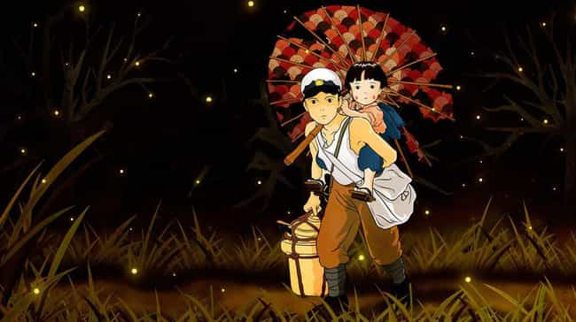 Grave of the Fireflies is listed (or ranked) 3 on the list 15 Anime That Will Turn Your Parents Into Total Otaku