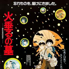 Grave of the Fireflies is listed (or ranked) 2 on the list The Best Movies About Tragedies