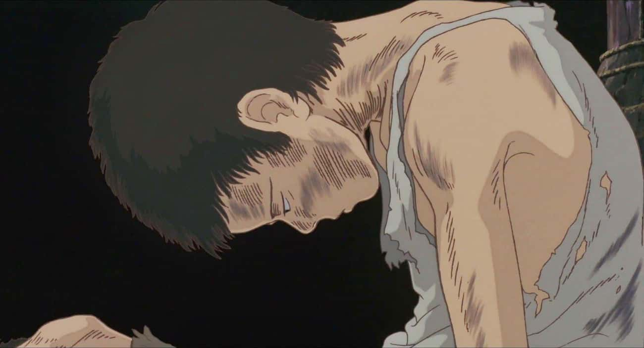 Grave of the Fireflies is listed (or ranked) 4 on the list The 15 Most Depressing Anime Endings That Left You Dead Inside