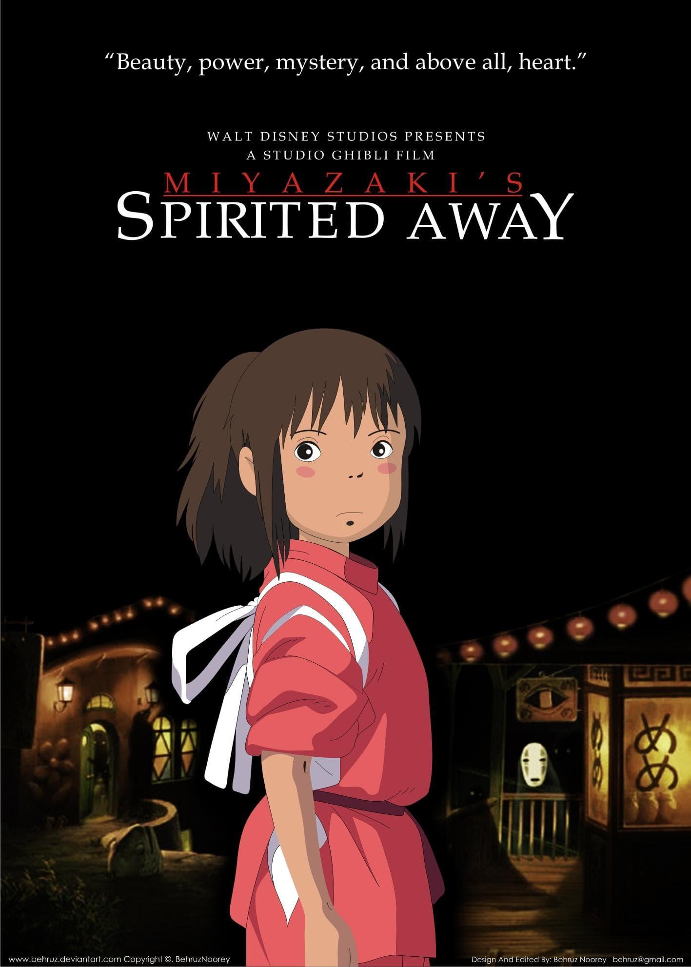 Spirited Away on Random Best Romance Anime