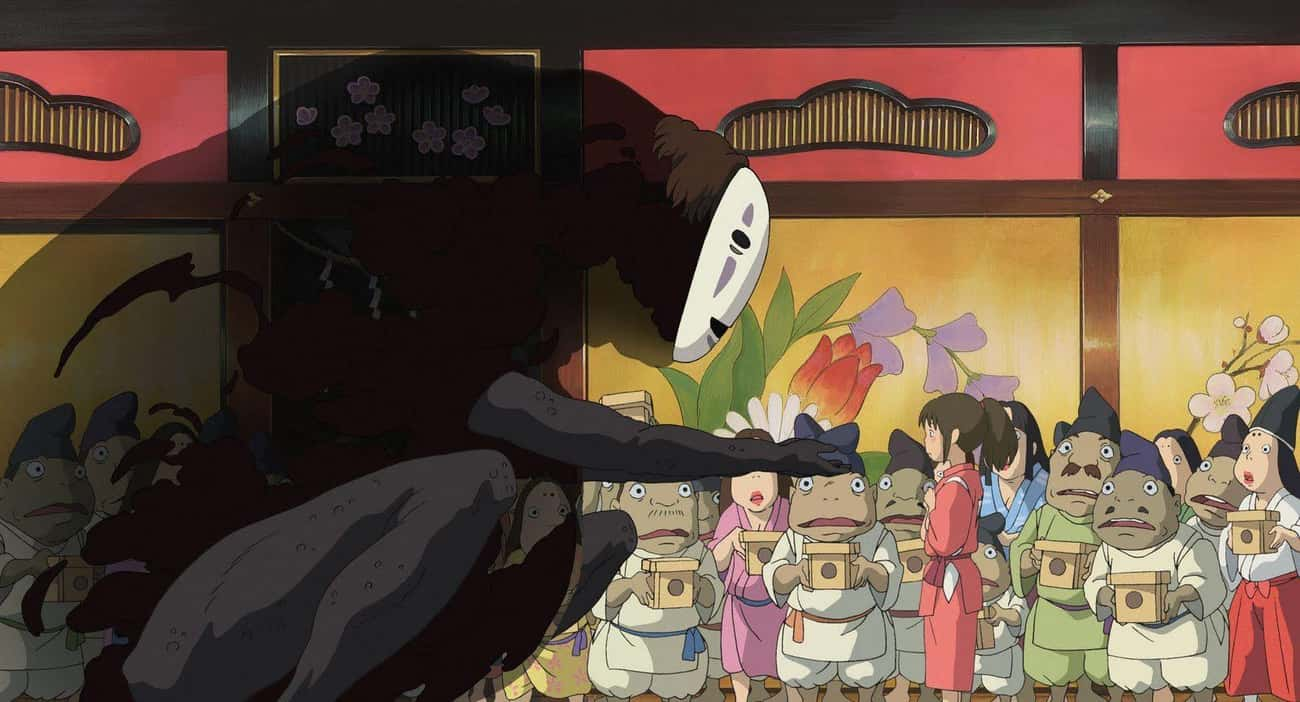 Spirited Away is listed (or ranked) 3 on the list The 20 Best Anime About Yokai