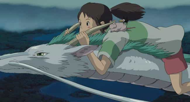 Spirited Away is listed (or ranked) 4 on the list The 15 Best Anime With Child Protagonists