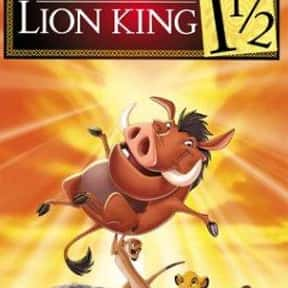 The Lion King 1½ is listed (or ranked) 7 on the list The Best Matthew Broderick Movies