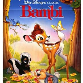 Bambi is listed (or ranked) 7 on the list The Best Classic Kids Movies That Are Kind of Dark