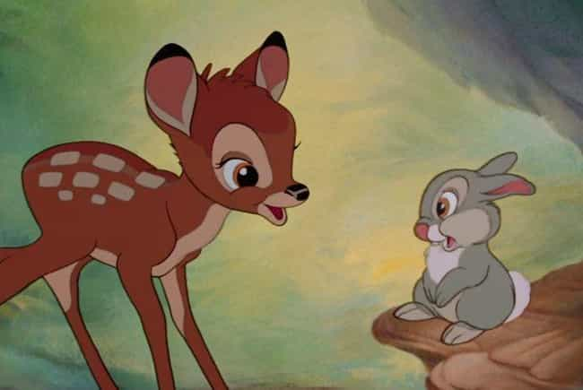 Bambi is listed (or ranked) 3 on the list 14 Animated Films That Were Better Than That Year's Best Picture Oscar Winner
