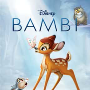 Bambi is listed (or ranked) 7 on the list Good Movies for ESL Students to Watch