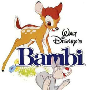 Bambi is listed (or ranked) 23 on the list The Best Disney Animated Movies
