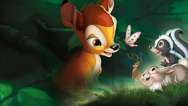 Bambi is listed (or ranked) 1 on the list All The Details You Need About Every Live-Action Disney Remake Coming Out