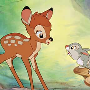 Bambi is listed (or ranked) 5 on the list The Greatest Animal Movies Ever Made