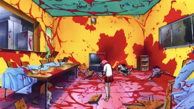 Elfen Lied is listed (or ranked) 2 on the list 14 Anime With Too Many Character Deaths To Keep Up With