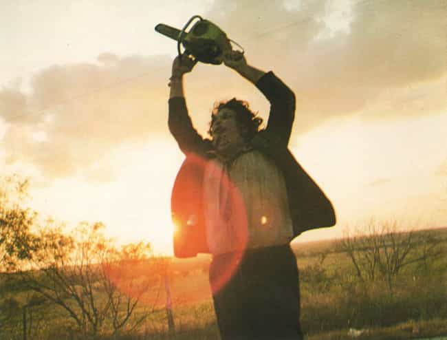 "The Texas Chain Saw Massacre is listed (or ranked) 3 on the list Are These Horror Movies Really ""Based On A True Story""? Truth Is, They're Reaching"