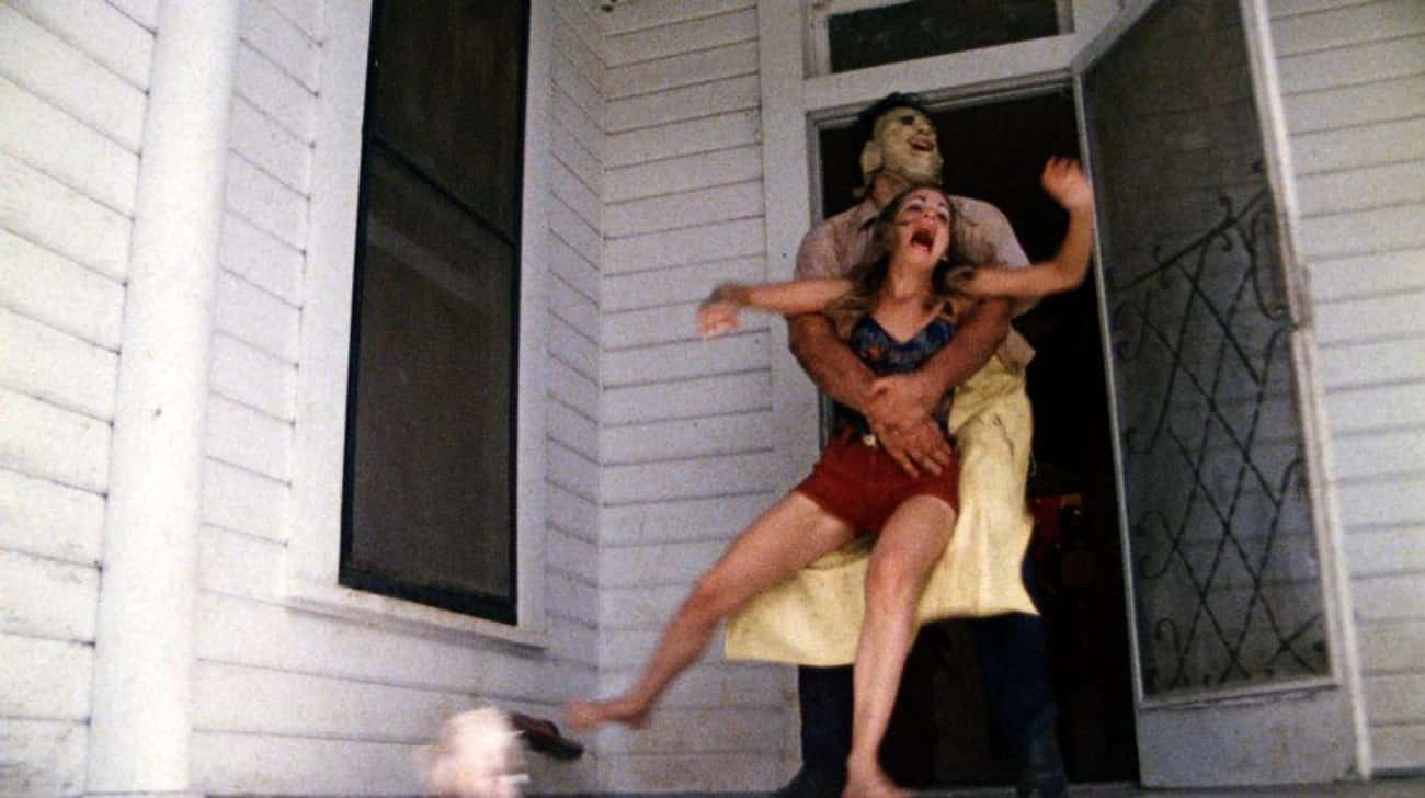 The Texas Chain Saw Massacre is listed (or ranked) 4 on the list 15 Controversial, Disturbing Horror Movies That Were Banned
