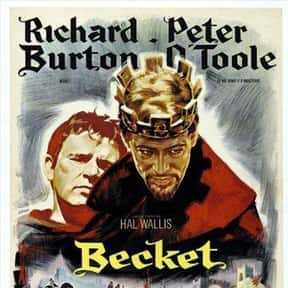 Becket is listed (or ranked) 25 on the list The Best Medieval Movies