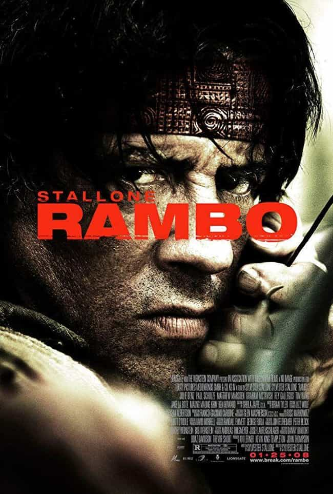 Rambo is listed (or ranked) 2 on the list The Best Movies In The 'Rambo' Franchise
