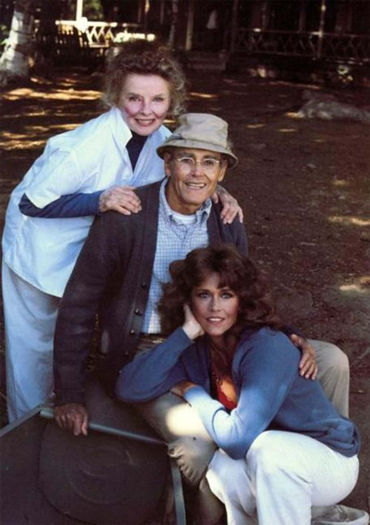 On Golden Pond is listed (or ranked) 3 on the list 21 Movies Where Real Family Members Play Fictional Families