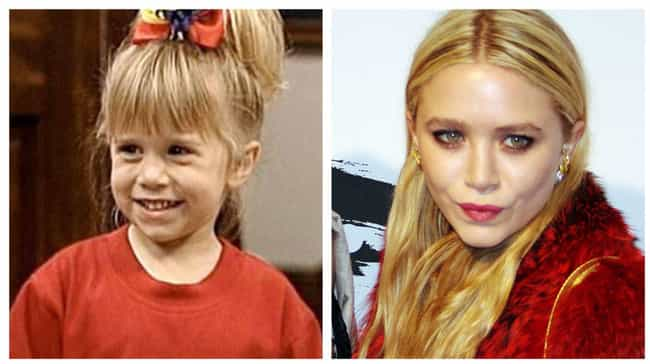 Mary-Kate Olsen is listed (or ranked) 4 on the list Kids Of TGIF Shows: Where Are They Now?