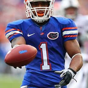 Percy Harvin is listed (or ranked) 7 on the list The Best University of Florida Football Players of All Time