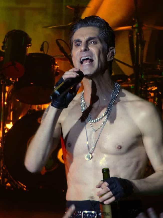 Perry Farrell is listed (or ranked) 4 on the list Rock Stars of the 1990s: Where Are They Now?