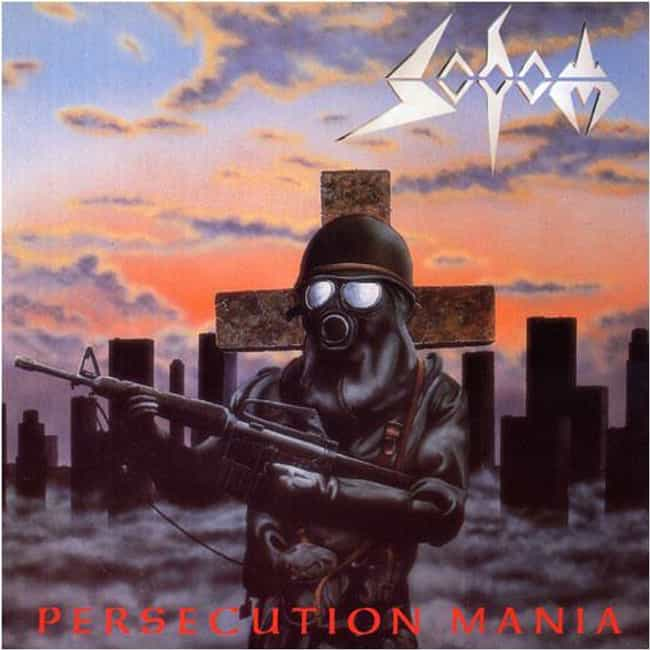 Persecution Mania is listed (or ranked) 2 on the list The Best Sodom Albums of All Time