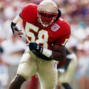 Peter Boulware is listed (or ranked) 19 on the list The Best Florida State Football Players of All Time