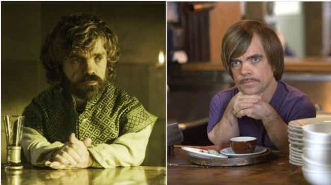 Peter Dinklage is listed (or ranked) 1 on the list Game of Thrones Actors Who Have Been in Romcoms