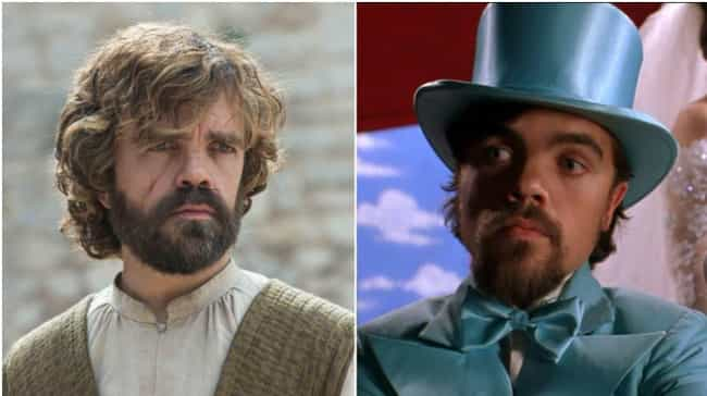 Peter Dinklage is listed (or ranked) 1 on the list A Look Back on Game of Thrones Actors in '90s Movies