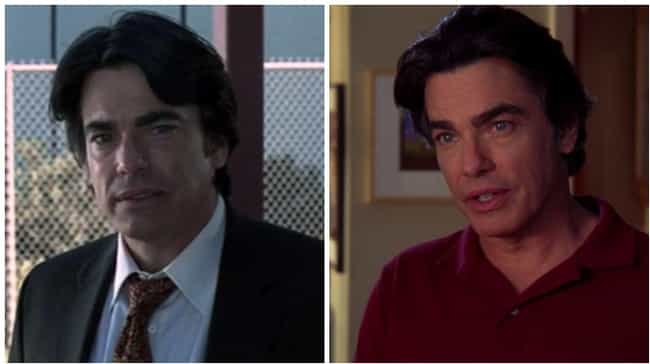 Peter Gallagher is listed (or ranked) 4 on the list How the Cast of The O.C. Aged Throughout the Show