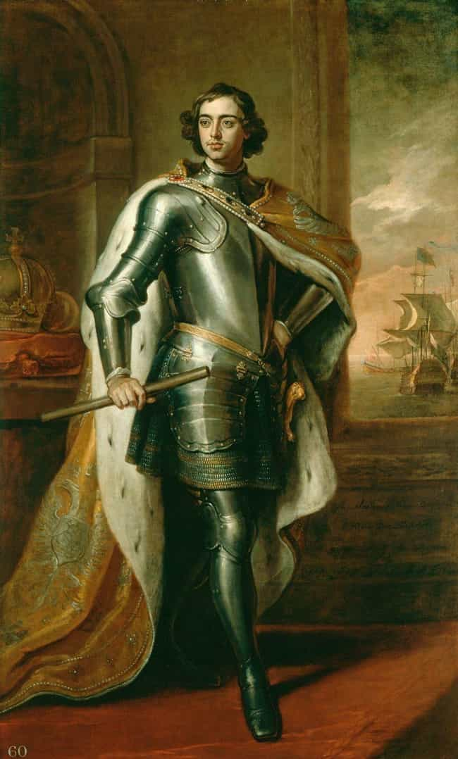 Peter the Great is listed (or ranked) 2 on the list 16 World Leaders Who Were (Or Are) Tall AF