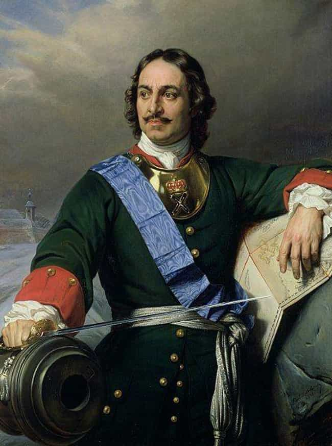 Peter the Great is listed (or ranked) 3 on the list Which Historical Figure Would Win In An All-Night Drinking Competition?