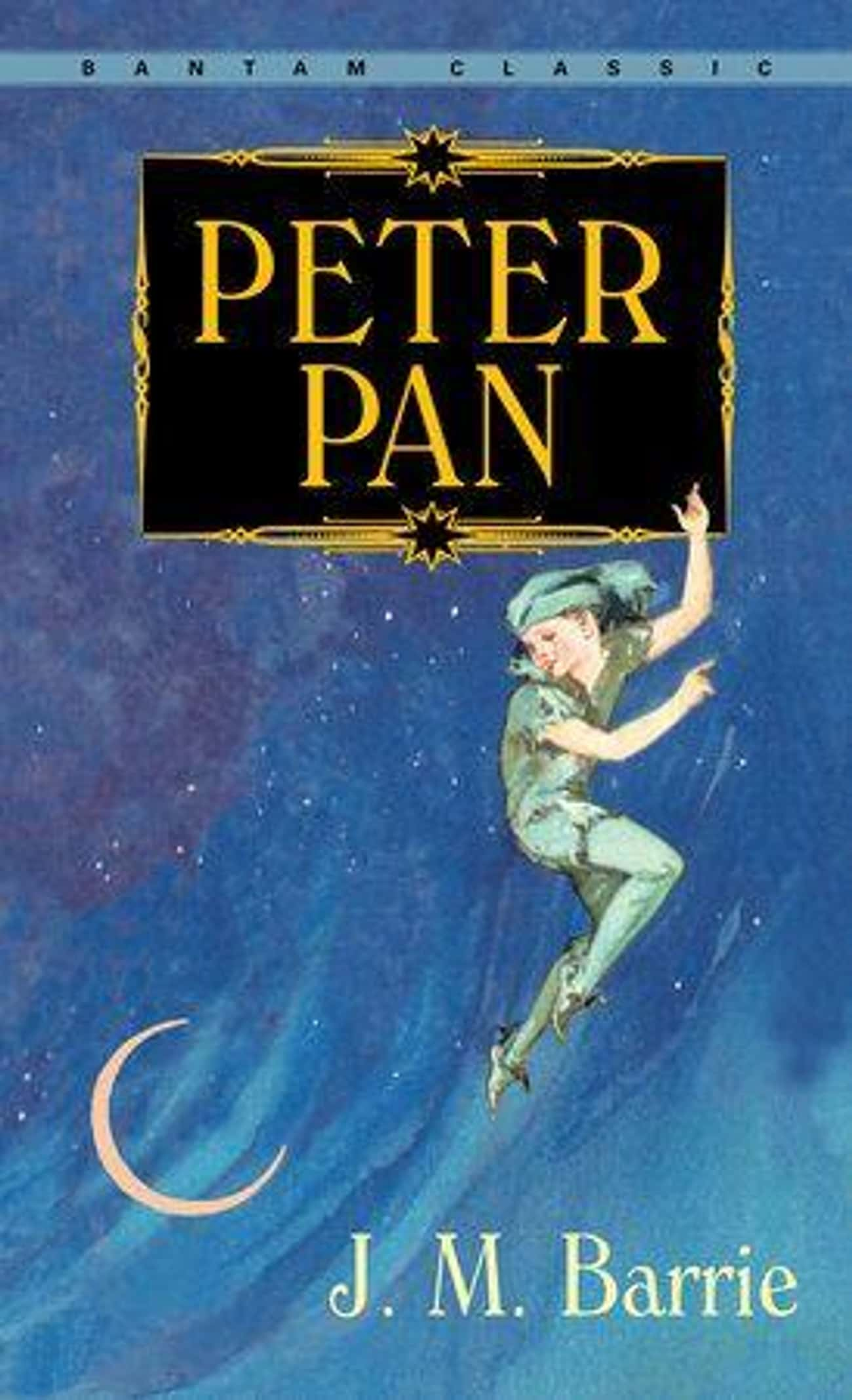 "Peter In Peter Pan is listed (or ranked) 3 on the list Movie ""Heroes"" Who Were Actually Villains The Whole Time"