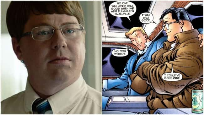 In the continuity of DC, Pete Ross from Man of Steel is Superman's childhood bestie and serving a term as future President.