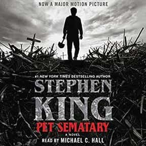 Pet Sematary is listed (or ranked) 3 on the list The Best Stephen King Audiobooks