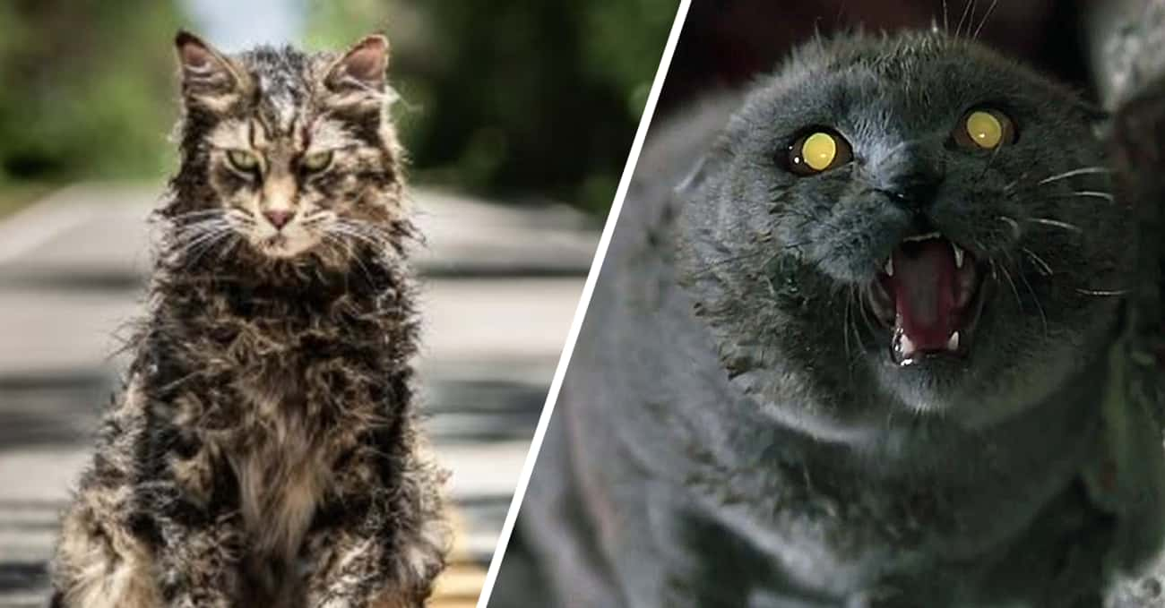 Pet Sematary is listed (or ranked) 4 on the list Horror Movie Monsters: Remakes Vs. Originals