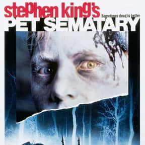 Pet Sematary is listed (or ranked) 15 on the list The Best Horror Movies Of The 1980s