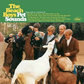 """Pet Sounds"" - The Bea is listed (or ranked) 6 on the list The 50 Greatest Albums Released Between 1960 - 1969"