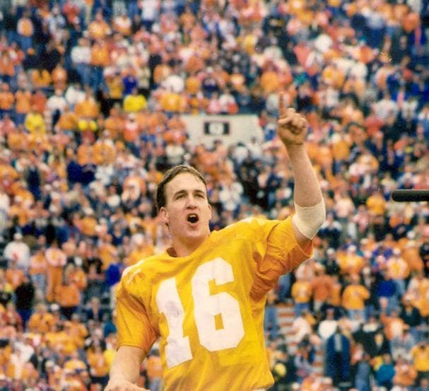 Random Best University of Tennessee Football Players