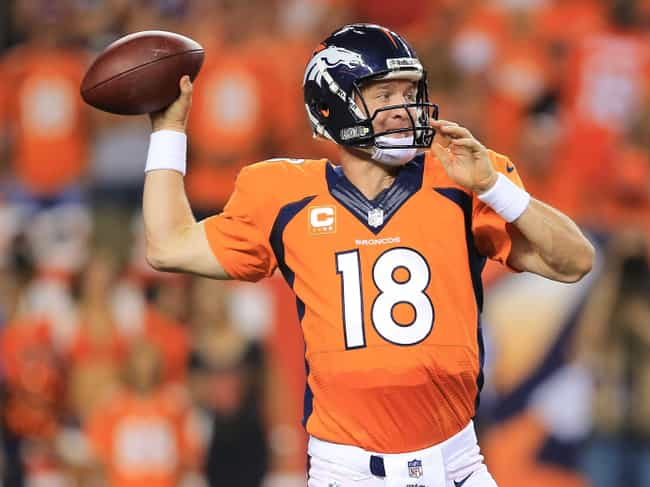 Peyton Manning is listed (or ranked) 3 on the list The Best Athletes of 2014