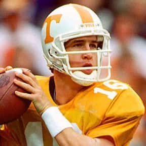 Peyton Manning is listed (or ranked) 1 on the list The Best Tennessee Volunteers Quarterbacks of All Time