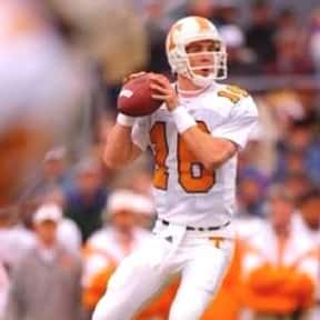 Peyton Manning is listed (or ranked) 1 on the list The Best College Football Quarterbacks of the 1990s