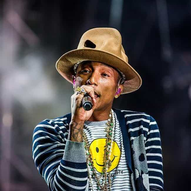 Pharrell Williams is listed (or ranked) 1 on the list Famous Parents of Multiples