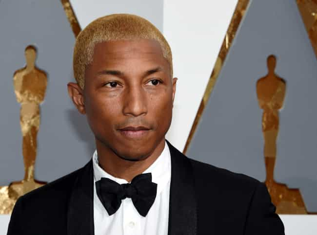 Pharrell Williams is listed (or ranked) 4 on the list 25 Rappers Who Are Aries