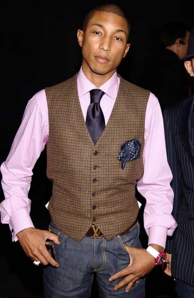 Pharrell Williams is listed (or ranked) 2 on the list The Best Dressed Rappers