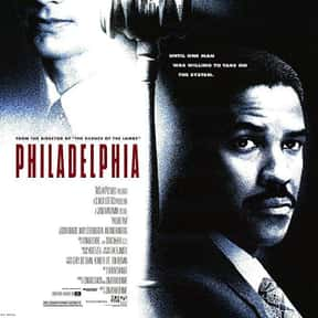 Philadelphia is listed (or ranked) 5 on the list The Best Inspirational Movies