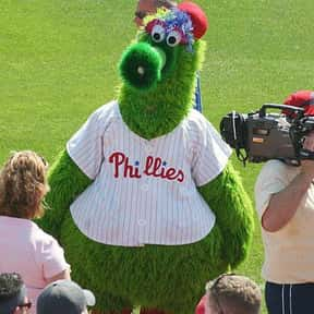 Phillie Phanatic is listed (or ranked) 1 on the list The Best Mascots in Major League Baseball