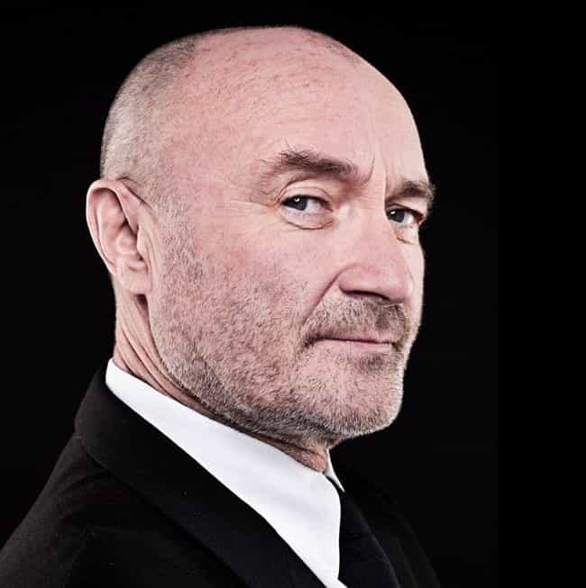 Phil Collins is listed (or ranked) 4 on the list Famous Male Drummers